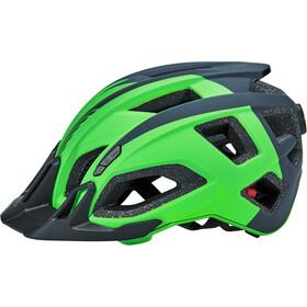 Cube Quest Helm green/grey/black